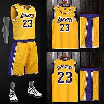 LAFE NBA Baloncesto Uniformes James Lakers Jersey 23, Traje de ...