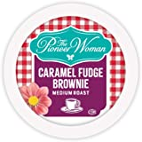 The Pioneer Woman Flavored Coffee Pods, Caramel Fudge Brownie Medium Roast Coffee, Single Serve Coffee Pods for Keurig K Cup