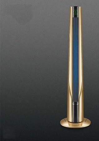 Gut Hzhy Elektrischer Fan Turm Fan Hauptvertikaler Blattloser Ventilator  Ruhiger Energiesparender Fernsteuerungsdesktop Turm