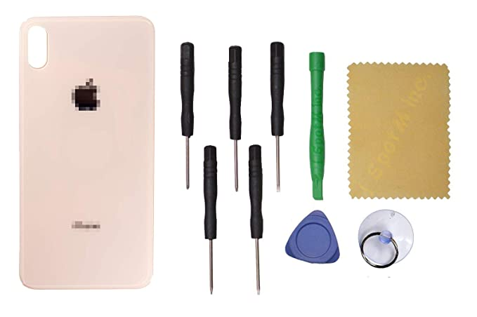 Amazon.com: Carcasa trasera de cristal para iPhone XS Max + ...