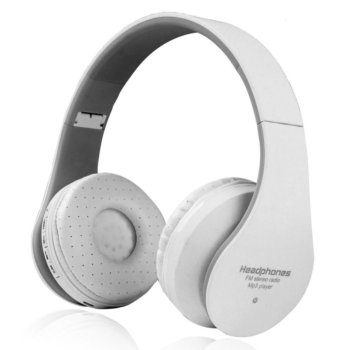 39a8b3d2395 SODIAL Wireless Headphones Bluetooth Stereo Bass HiFi Foldable Lightweight  Wired and Wireless Headphones Support FM Radio, SD Card and Wired Modes  Built in ...