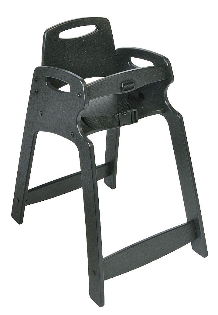 Koala Kare KB833-01 Eco Plastic High Chair, Grey , 24'' Height, 18'' width, 31'' Length