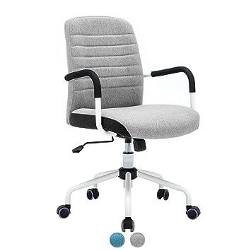 Design ÉléganceConfortgris Chaise Bureau Flair Fauteuil Kayelles De oxCerdBW