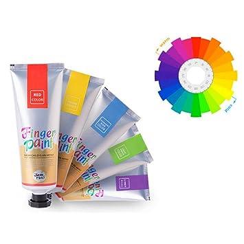 Qualitativ hochwertiges Farbset Kinder Finger Bild Farbe mit 20 ...