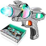 Space Defender Space-Gun mit Licht /& Sound Laserpistole Spielzeugpistole Kinder