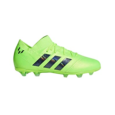 adidas Nemeziz Messi 18.1 FG Cleat - Kid s Soccer 1 Solar Green Core Black 052e3e9d5