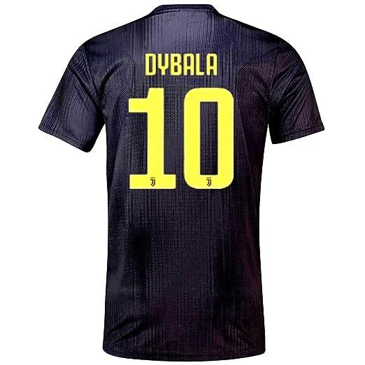 ... get paulo dybala 10 juventus 2018 2019 away mens soccer jersey color  black size s db7b9 beb1a6e49