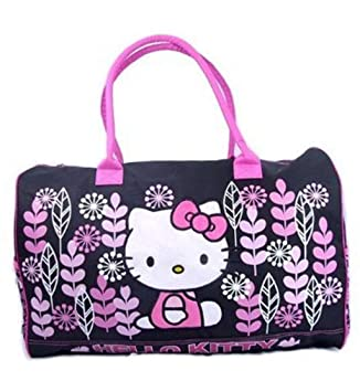 ccfe555b35aa Image Unavailable. Image not available for. Color  Hello Kitty Duffle Bag  Travel Gym ...