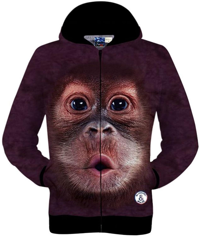 2c6effab852 good Pizoff Mens Unisex 3D Digital Print New Fashion Hoodie Sweatshirt  Jacket Y1760