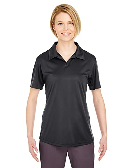 4dfdcc98 Ultraclub 8425L Ladies Performance Interlock Polo at Amazon Women's ...