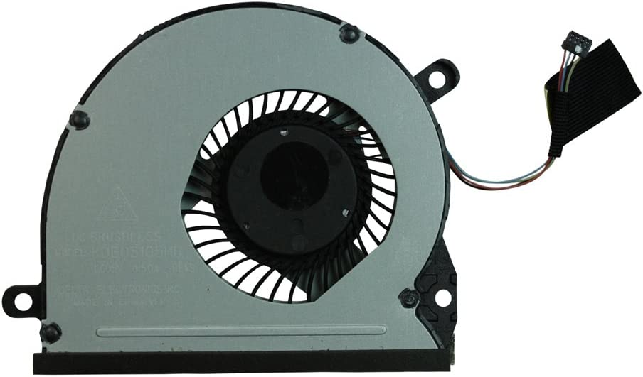 Power4Laptops Replacement Laptop Fan for HP Envy 14-3110TU, HP Envy 14-3111TU, HP Envy 14-3112TU, HP Envy 14-3113TU, HP Envy 14-3114TU