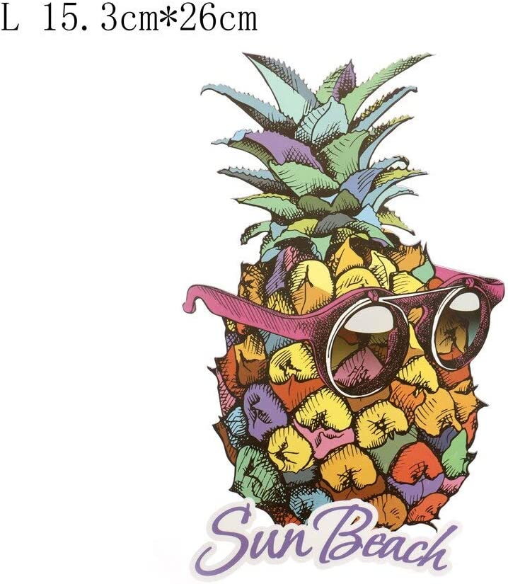 Ruler Woodwork - Patch Iron On Clothes Pineapple With ...