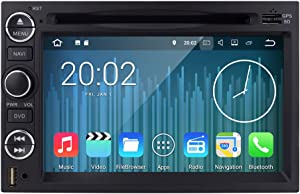 Android 7.1 2GB RAM Fit Ford F150 F250/350/Edge/Fusion/Mustang in Dash DVD Player GPS Navigation Stereo Radio BT Steering Wheel Ctrl WiFi Support 4G DVR TV DAB+TPMS