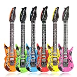 4Pcs 55cm Inflatable Guitar Toys For Party Kids Party Decor Toy by LMMVP