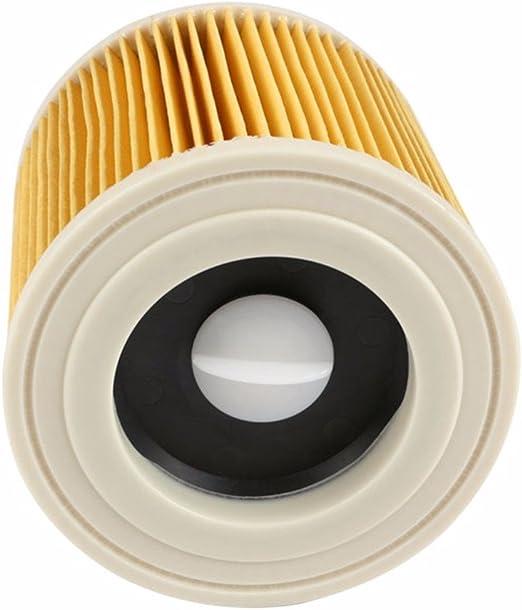 Morning May - Recambios de filtros de Aire en Polvo de Repuesto aspiradoras Karcher, Cartucho de Filtro HEPA WD 2250 WD3.200 MV2 MV3 WD3: Amazon.es: Hogar