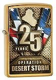 us army stove - Zippo Operation Desert Storm Brushed Brass Pocket Lighter