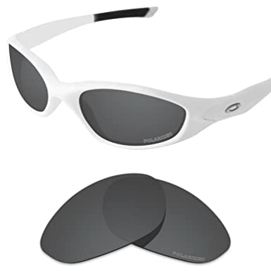 1ae3d86187c7 Tintart Performance Replacement Lenses for Oakley Minute 2.0 Sunglass  Polarized Etched-Carbon Black