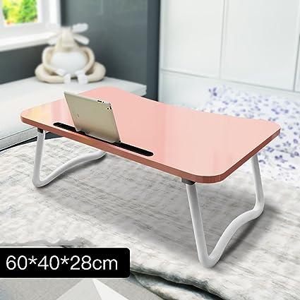 YXX- Piccoli tavoli pieghevoli in legno con ripiano per cellulare ...