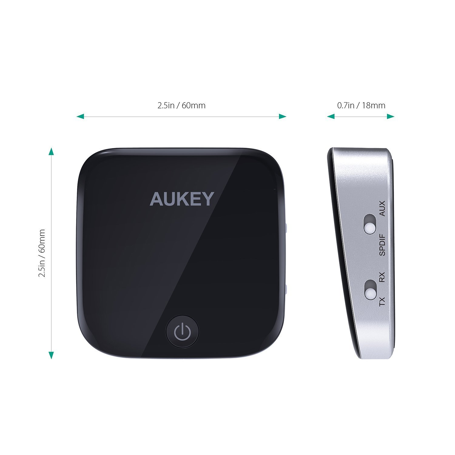 AUKEY Bluetooth Transmitter Empfänger 2 in 1 mit: Amazon.de: Elektronik