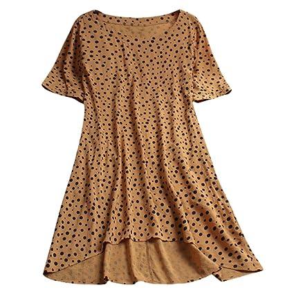 Wawer Mujer Camisa Casual Boho Blusa Moda Mujer Floral Shirt ...