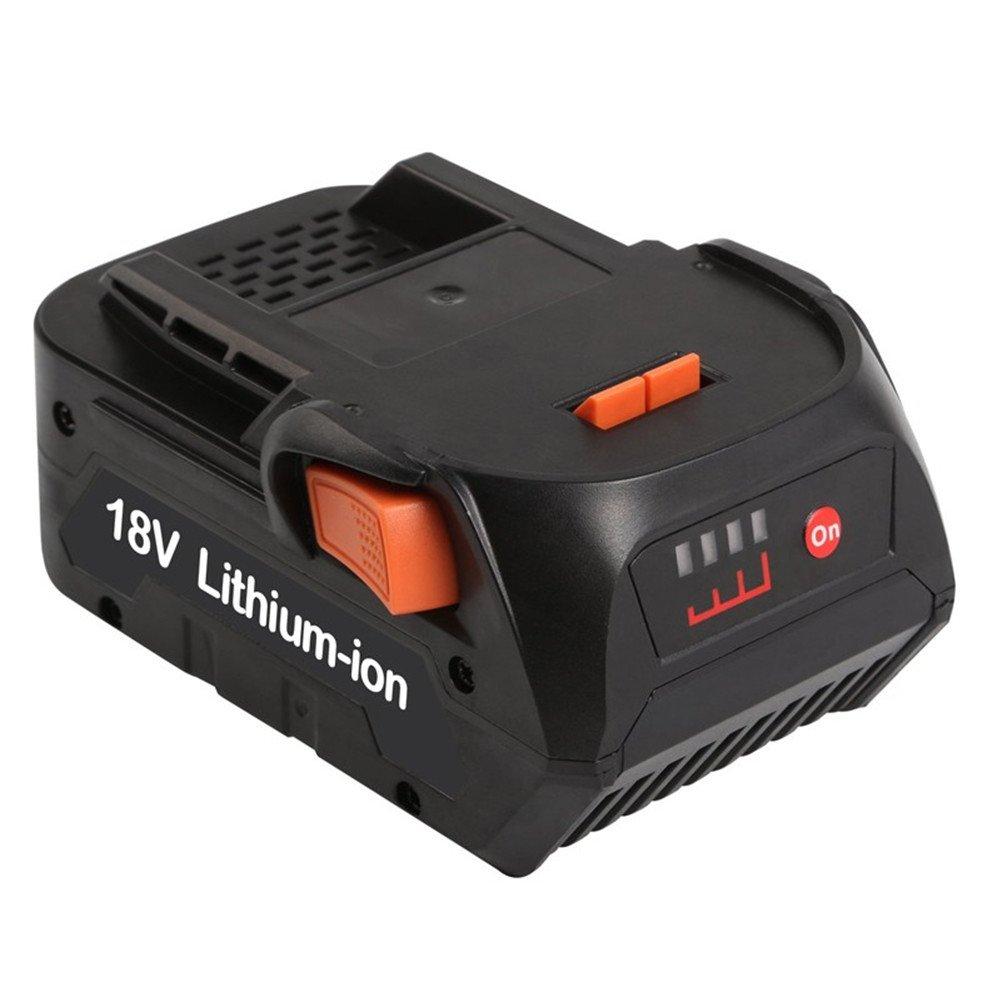 Batteria LI-ION 18V 5000mAh di alta qualità per Ridgid r840083cs0921r84008AC840084L1830R per batteria della serie AEG