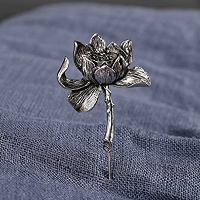 Amazoncom Lotus Personalized Retro Suit Corsage Brooch Prudential