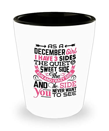 Amazon.com: Diciembre chica chupito regalo divertido – Como ...