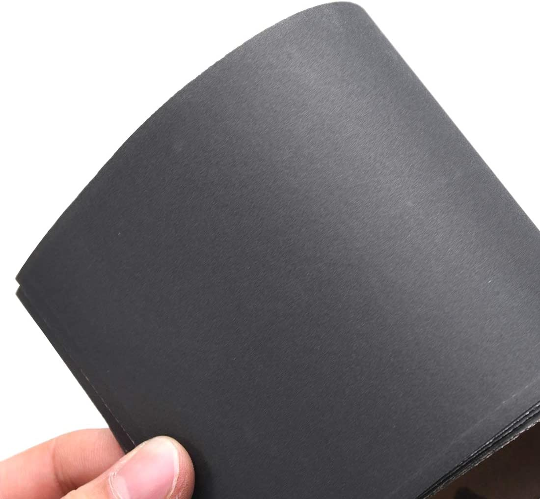 sourcing map 1000 Grits Sanding Sheets 9-inch x 11-inch Wet Dry Silicon Carbide Sandpaper for Wood Furniture Metal Automotive Polishing 10pcs