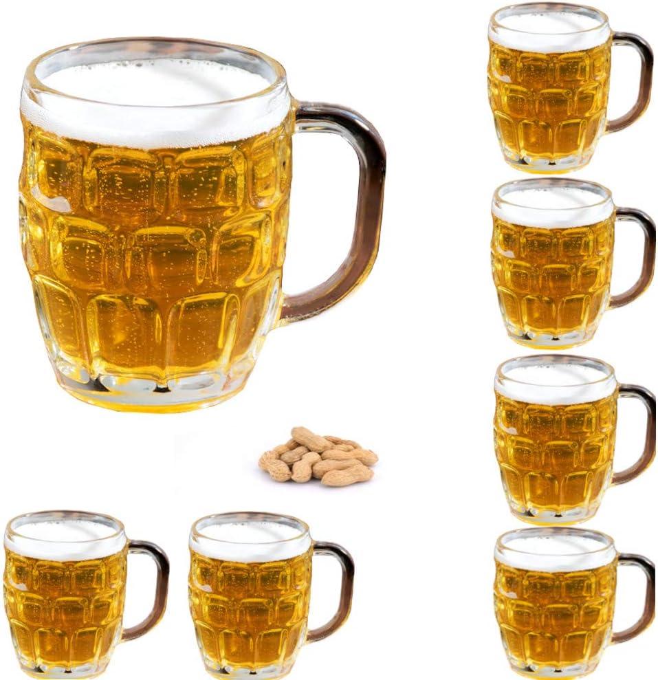 USA Glass Stein German Glass Beer Stein