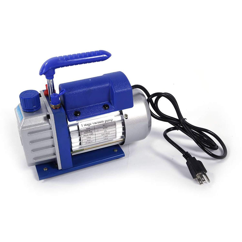 SHUTAO 1/4 HP 3CFM Horsepower Vacuum Pump Blue