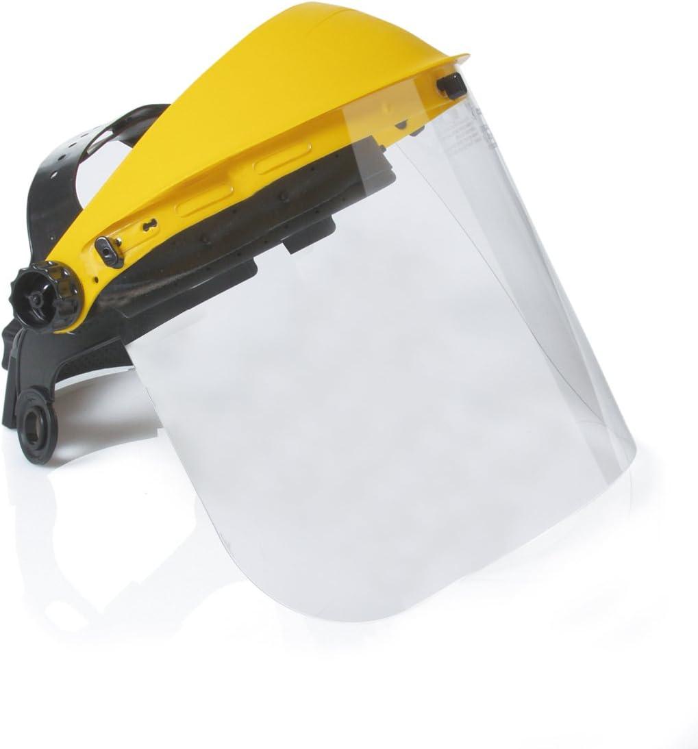 Safetop 79400 - Protector facial facy claro c/visor claro de pc ...