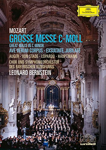 (Mozart - Great Mass in C Minor; Ave Verum Corpus; Exsultate Jubilate / Auger, Von Stade, Bernstein)