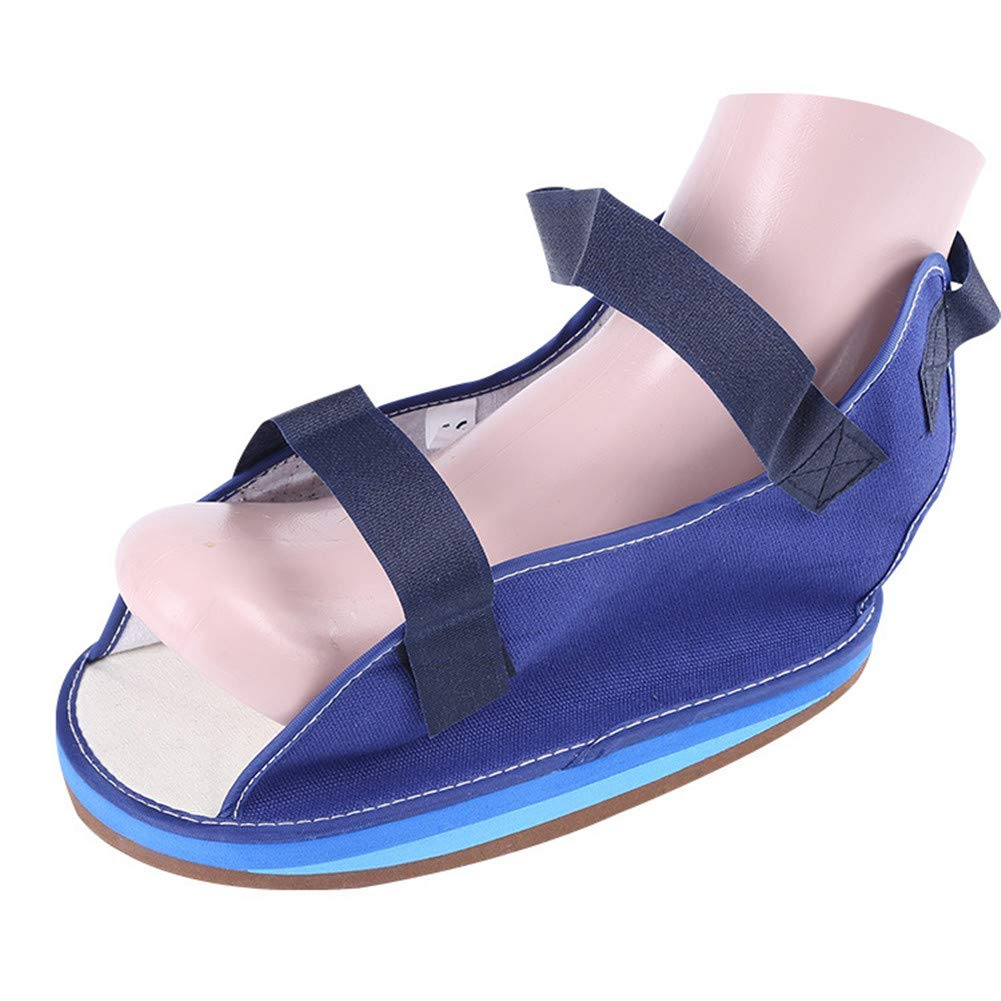 WLIXZ Fracture Gypsum Shoes, Toe Valgus Fixed Shoe Cover, Postoperative Shoes for Foot and Ankle,M/L