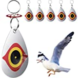 BOKEYU Bird Repellent,Predator's Eyes and Light Reflective to Scare Birds Away -Everyday Bird Control Keep Woodpeckers and Nuisance Birds Away From Property- 5 Pack