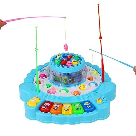 TONZE Angelspiel Musikspielzeug Pädagogisch Spielzeug 26 Stücke für Kinder ab 3 4 5 Jahren