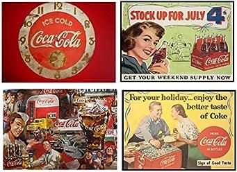 Set of 4 Placemats Coca Cola Vintage (2° versione)