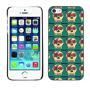 ZECASE Funda Carcasa Tapa Case Cover Para Apple iPhone 5 / 5S No.0002275