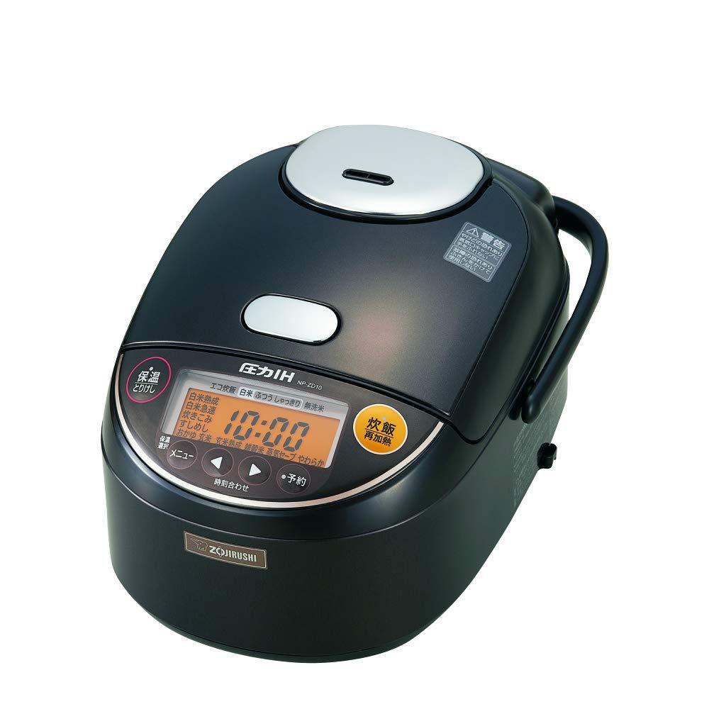 象印 炊飯器 5.5合 圧力IH式 極め炊き ダークブラウン NP-ZD10-TD   B073XYVS2M