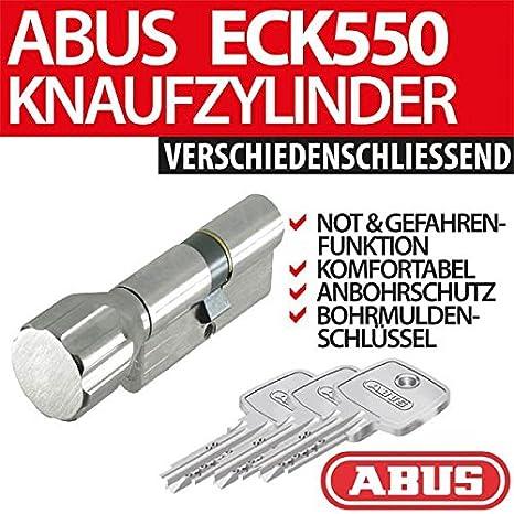 Cylindre de serrure /à boutons Abus EC550//à combinaisons multiples avec CodeCard ToniTec