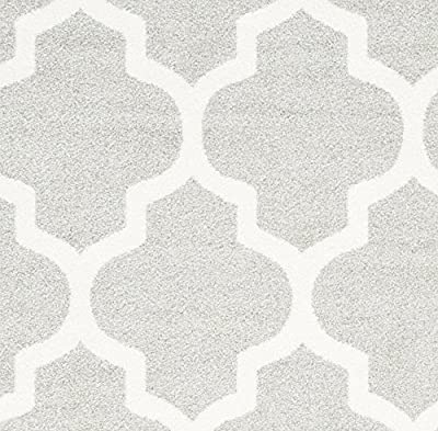 Safavieh Amherst Collection AMT420B Light Grey and Beige Indoor/ Outdoor Area Rug