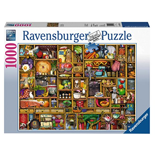 Kitchen Cupboard Jigsaw Puzzle, 1000-Piece JungleDealsBlog.com