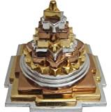 Mix Metal Meru Shree Yantra For Prosperity and Luck