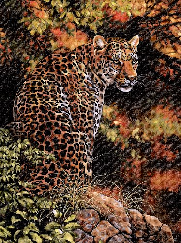 Dimensions Needlecrafts Counted Cross Stitch, Leopard's Gaze