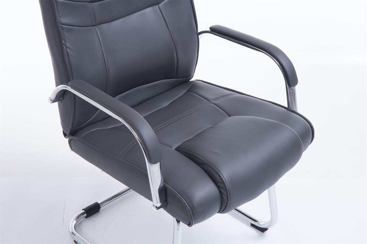 Clp sedia cantilever xxl attila in similpelle u sedia studio