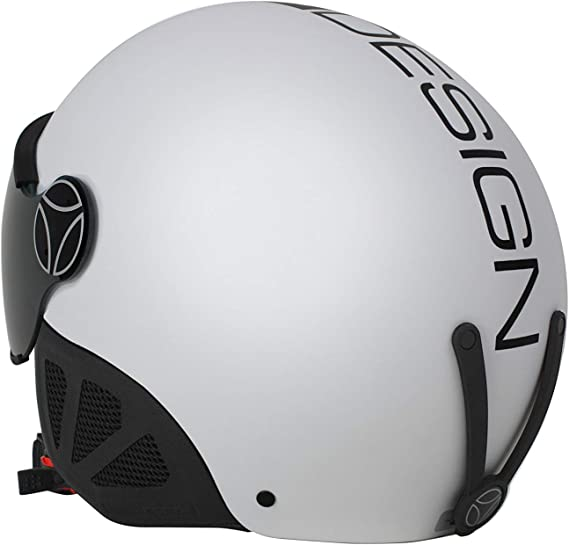 58 cm Nero Opaco MOMO Design Force18 Casco Sci Unisex Adulto M