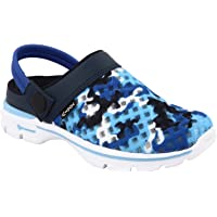 KazarMax Blue Camo Slipon's/Sandals/Hopits/Clogs and Mules for Kids