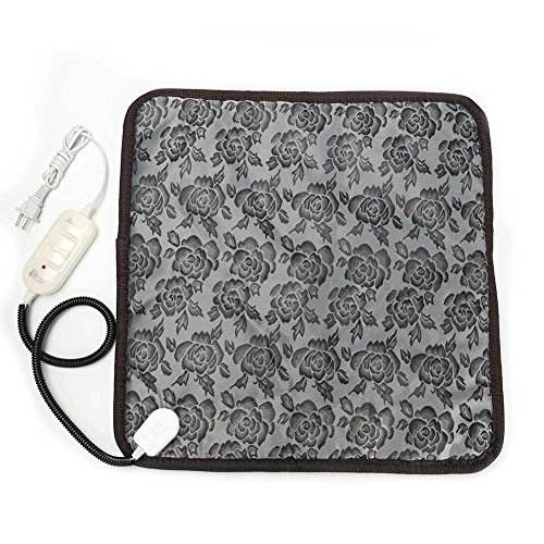 Baring Pet Heating Mat-Electric Heating Pad for Pet Constant Temperature Warming Cushion Bed for Dog and Cat with Anti Bite Tube 17.7
