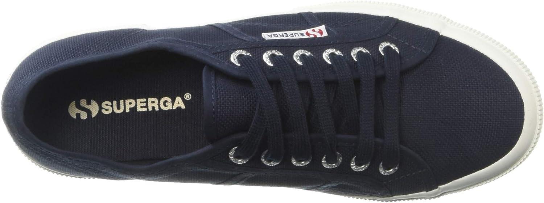 Superga Women's 2750 Cotu Classic Sneaker Navy/White