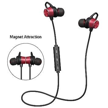 Auricular Bluetooth,Cascos Bluetooth Deporte v4.1 de Inalámbricos ...