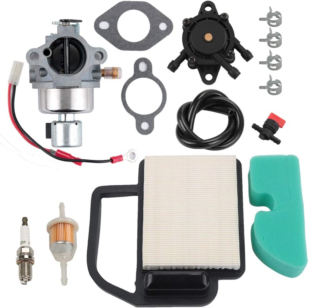 Harbot 20 853 33-S 20-853-33-S 20 853 35-S Carburetor for Kohler Courage SV530 SV540 SV590 SV600 SV591 SV601 SV610 SV620 15-21HP Engine with 20 083 02-S Air Filter 24 393 16-S Fuel Pump